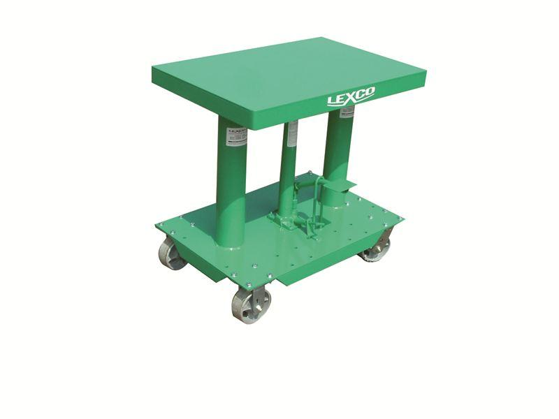 Lexco Hydraulic Lift Tables - 2000 lb Capacity