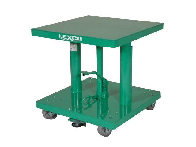 Lexco Hydraulic Lift Tables - 400 lb Capacity