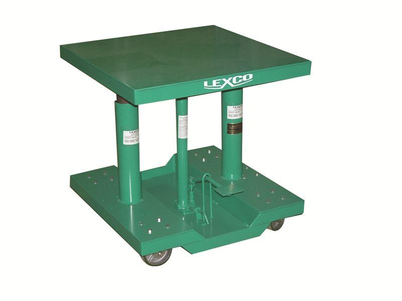 Lexco Hydraulic Lift Tables - 500 lb Capacity
