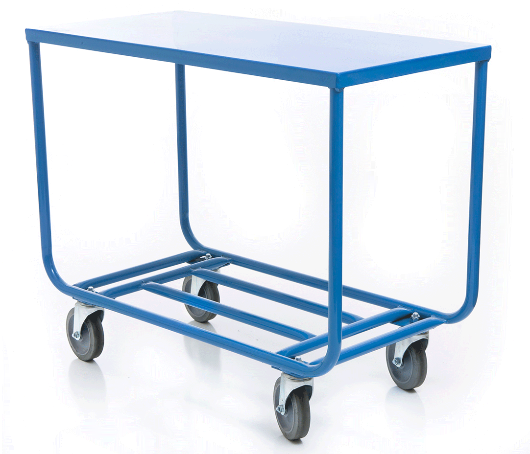 Dutro LT5B Solid Top Tubular Stocking Cart