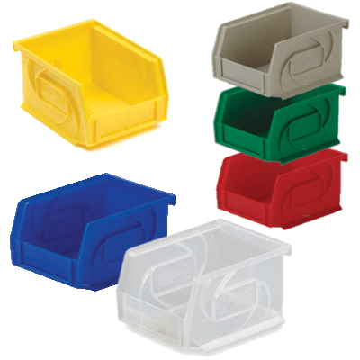 Lewis Bins PB54-3 Parts Bin in 6 different colors