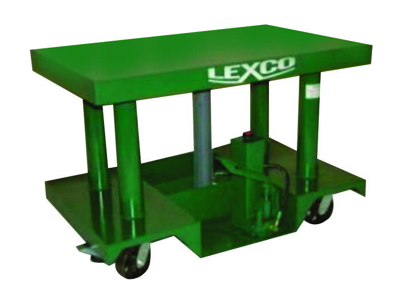 Lexco Hydraulic Lift Tables - 6000 lb Capacity