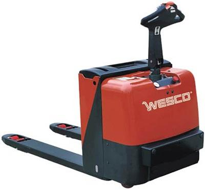 Wesco Deluxe Power Pallet Truck