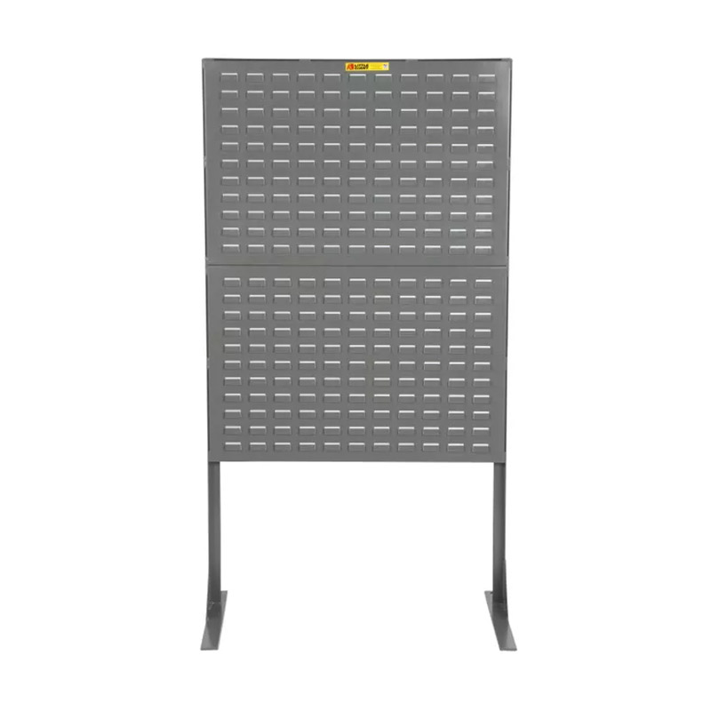 Stationary Pegboard or Louvered Panel Storage