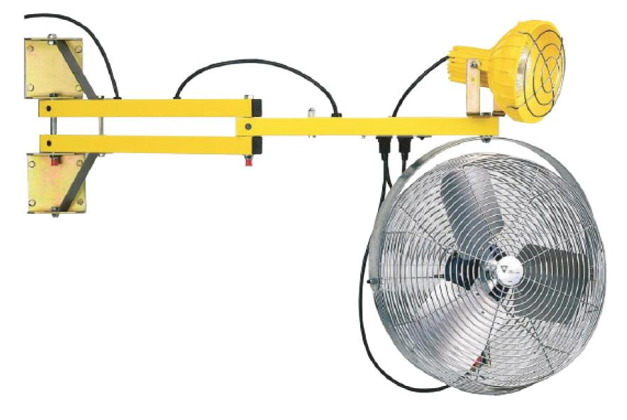 Loading Dock Fans and Fan / Light Combo