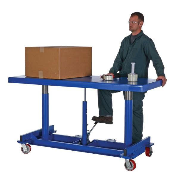 Vestil Long Deck Cart