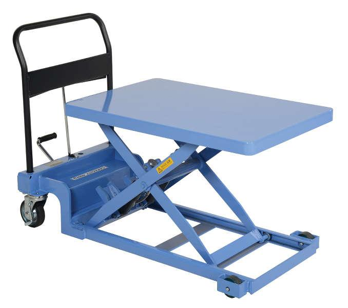 Vestil Low Profile Scissor Lift Cart Model No. CART-900-LP