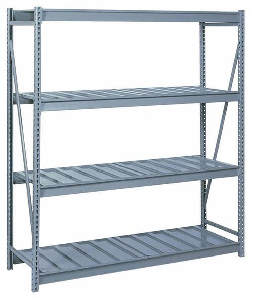 Bulk Storage Racks - 96 Inch Wide - Ribbed Steel Decking Starter Unit
