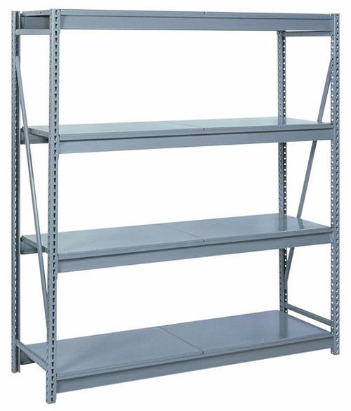 Lyon Bulk Storage Racks - 96 Inch Wide - Solid Steel Decking