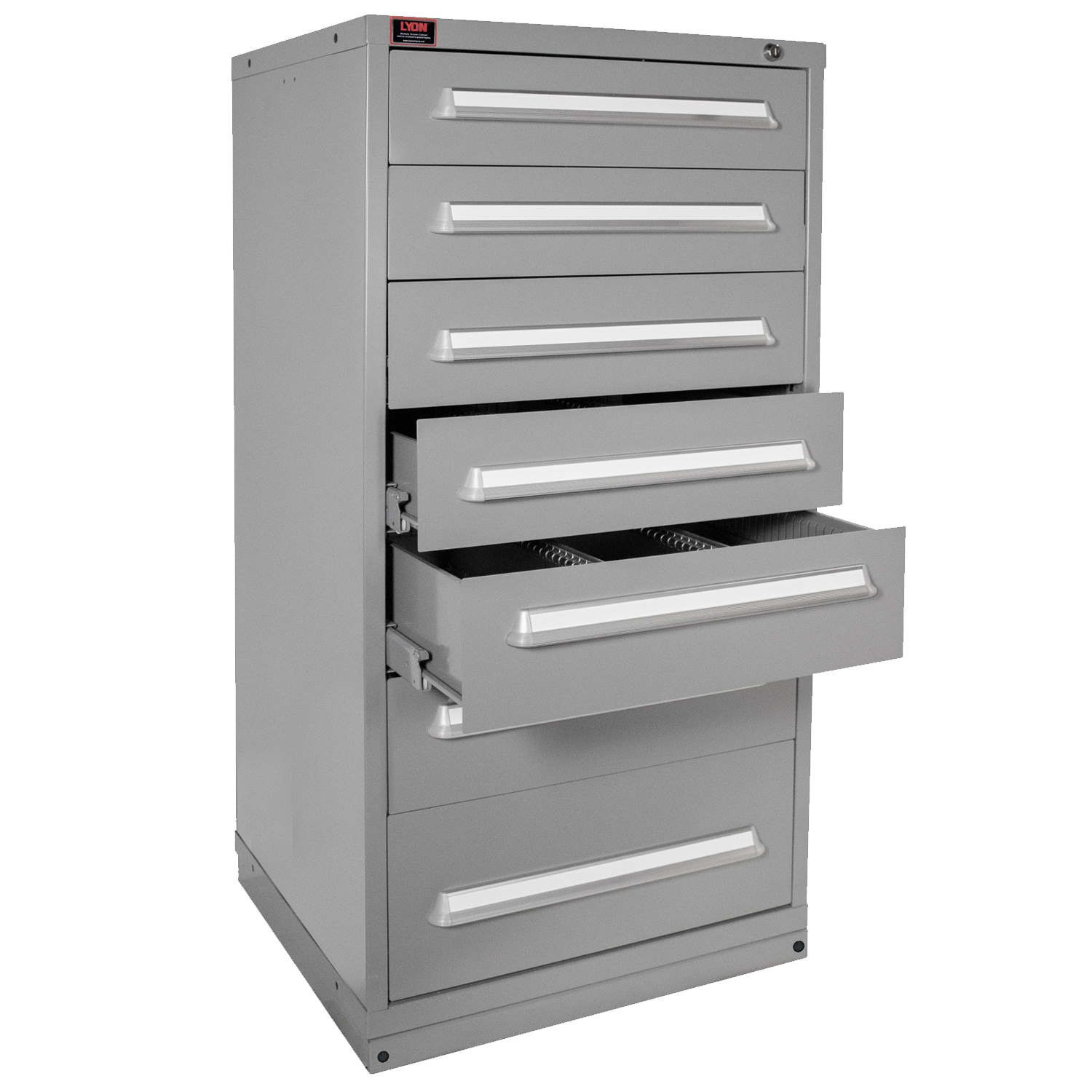 Quick Ship Modular Drawer Cabinet 7 Drawers with 77 Compartment