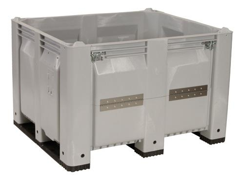 Decade MACX Solid Containers - Solid MACX With Drop Gate and Casters