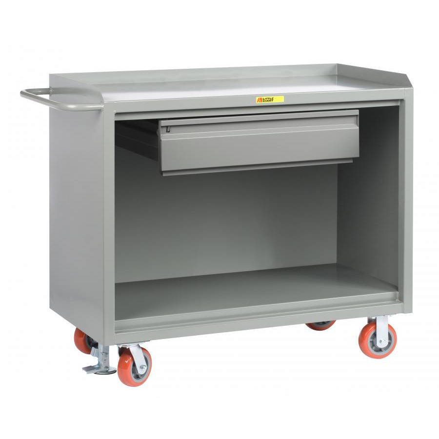 Little Giant Mobile Bench Cabinets with Heavy-Duty Drawer Model No. MB-2448-HDFL