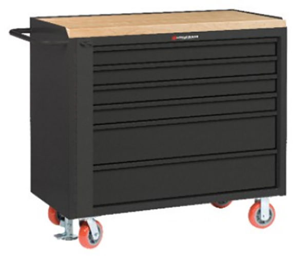 "Mobile Tool Cabinet 24"" x 36"" 4 Shallow & 2 Deep Drawers"