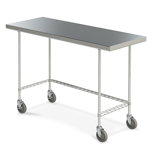 Metro Mobile Space Saver Worktables