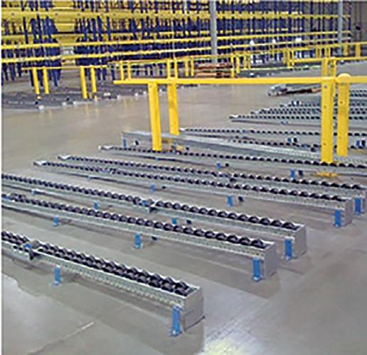 Magnum Heavy Duty Wheel Pallet Flow Racks