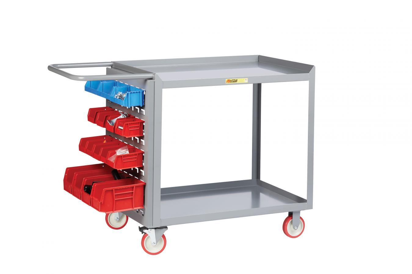 Little Giant Maintenance Workstation with Pegboard or Louvered Storage
