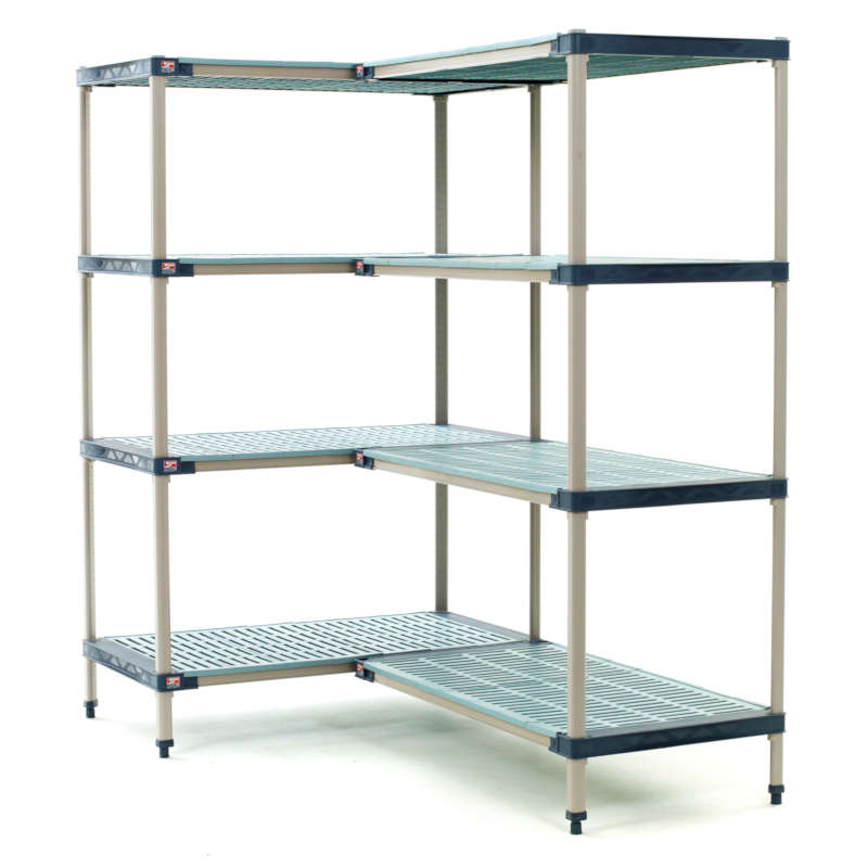 MetroMax 4 Shelving Starter and Add-On 4-Tier Units