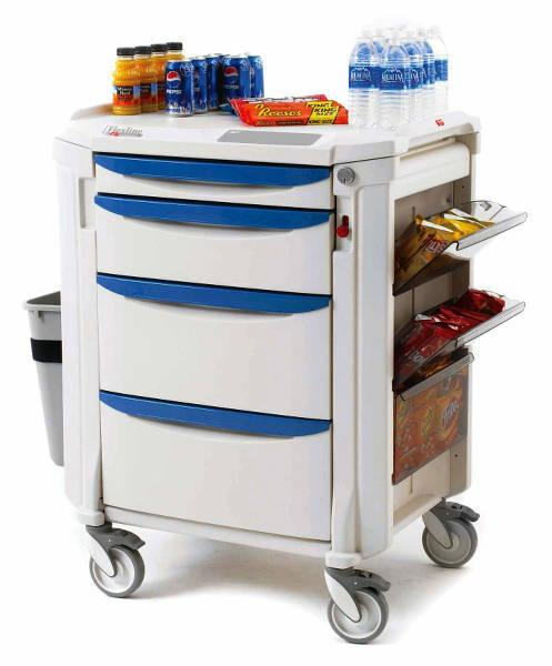 Metro Flexline Mini Bar Restocking Cart