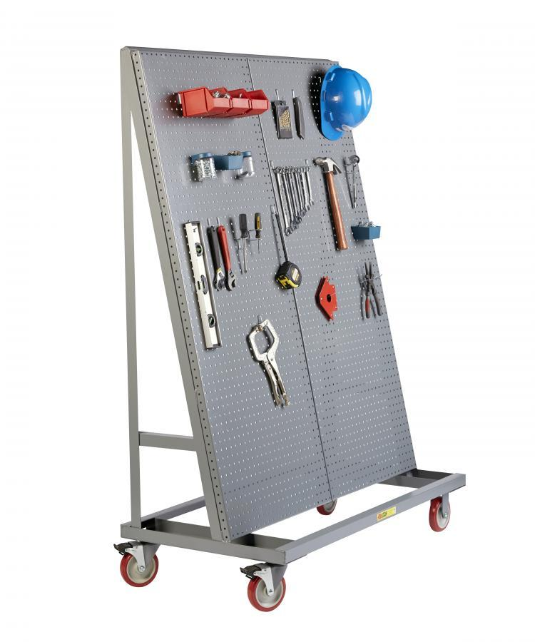 Little Giant Mobile Pegboard A-Frame - 60 Inches Tall Model No. AFPB1S2448-TL60