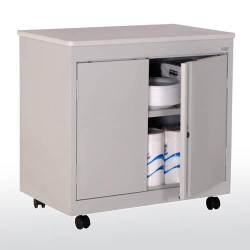 Sandusky Mobile Utility Cabinet with Fixed Shelf Model No. RF1F301826-05D