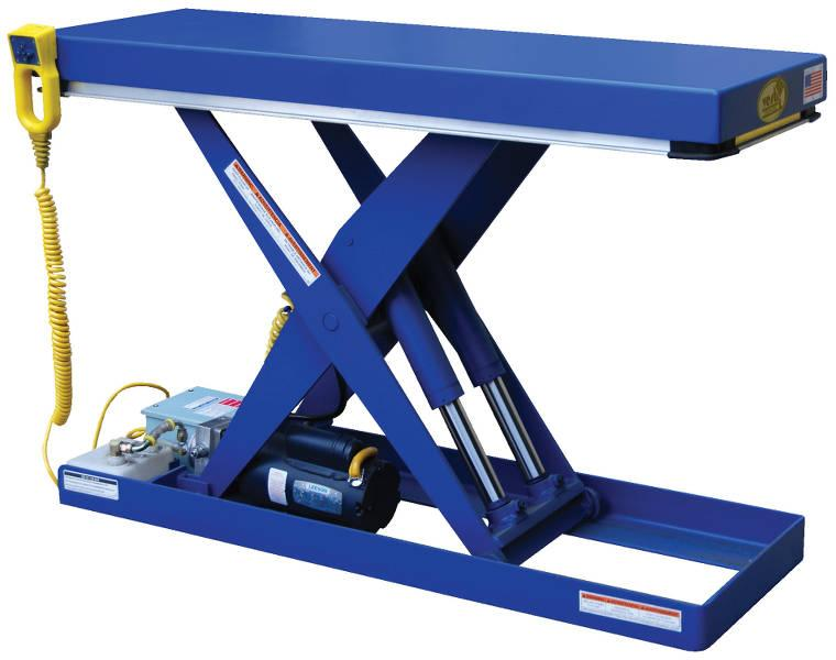 Vestil Narrow Scissor Lift Table Model No. EHLT-N-1648-1-32