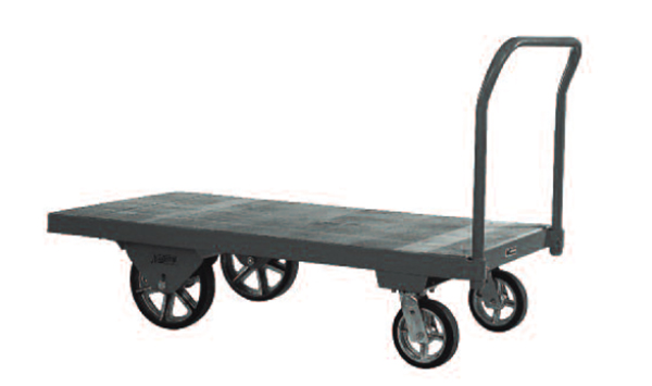 "Nutting Hardwood Platform Trucks 10 to 16"" Wheels"