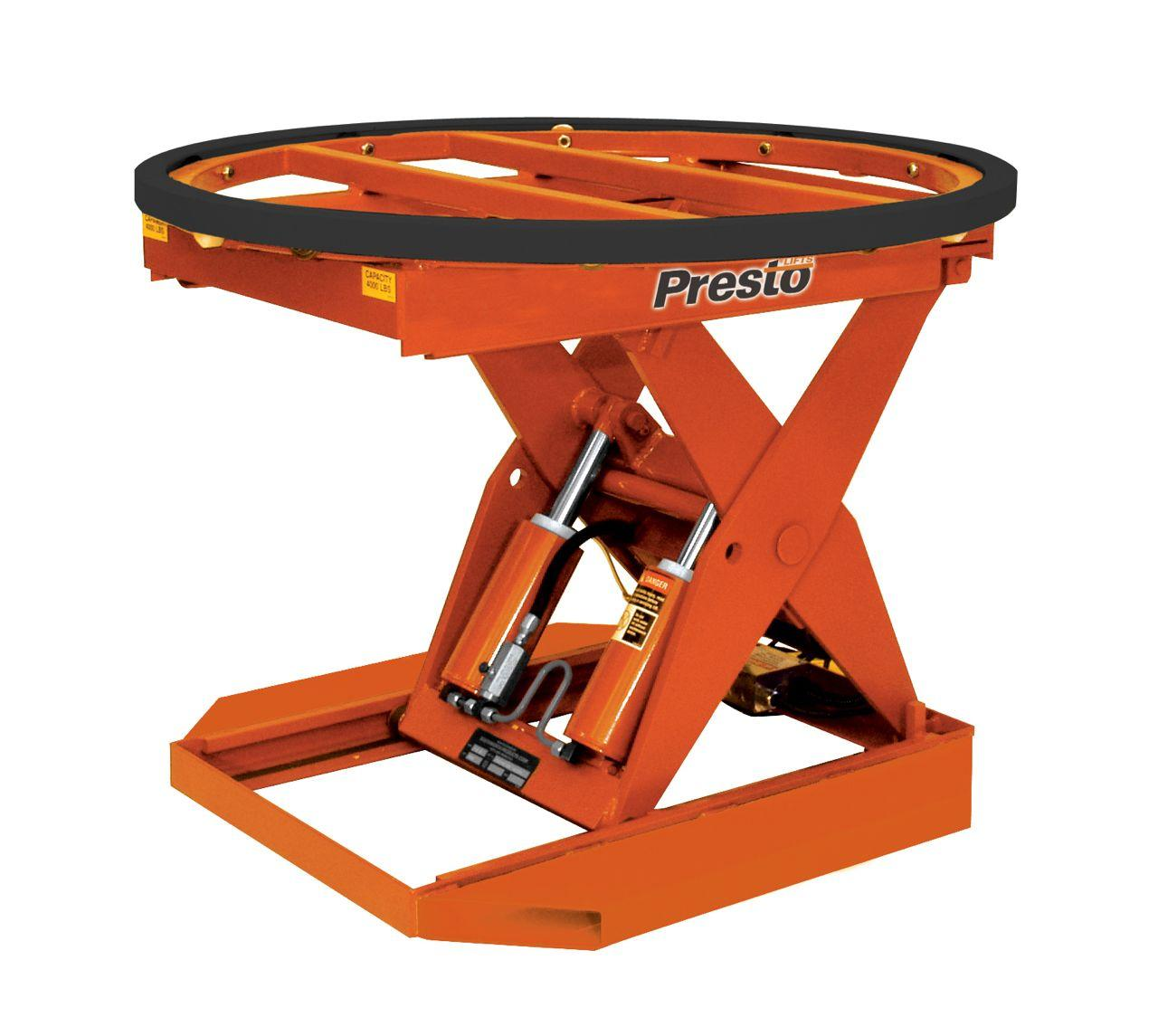 Presto P3 Powered Pallet Positioner