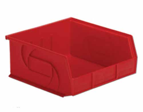 Lewis Bins PB1011-5 Parts Bin in red