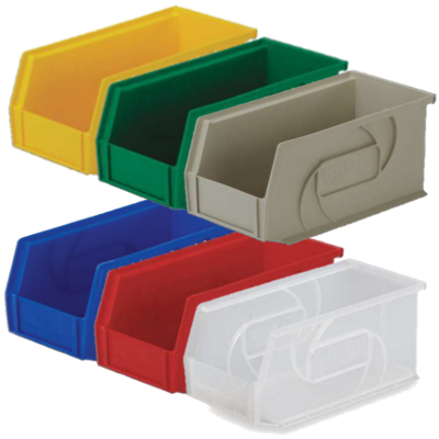 Lewis Bins PB105-5 Parts Bin in 6 different colors