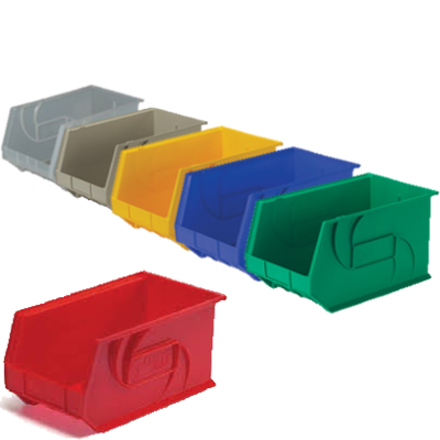 Lewis Bins PB1811-10 Parts Bin in 6 different colors