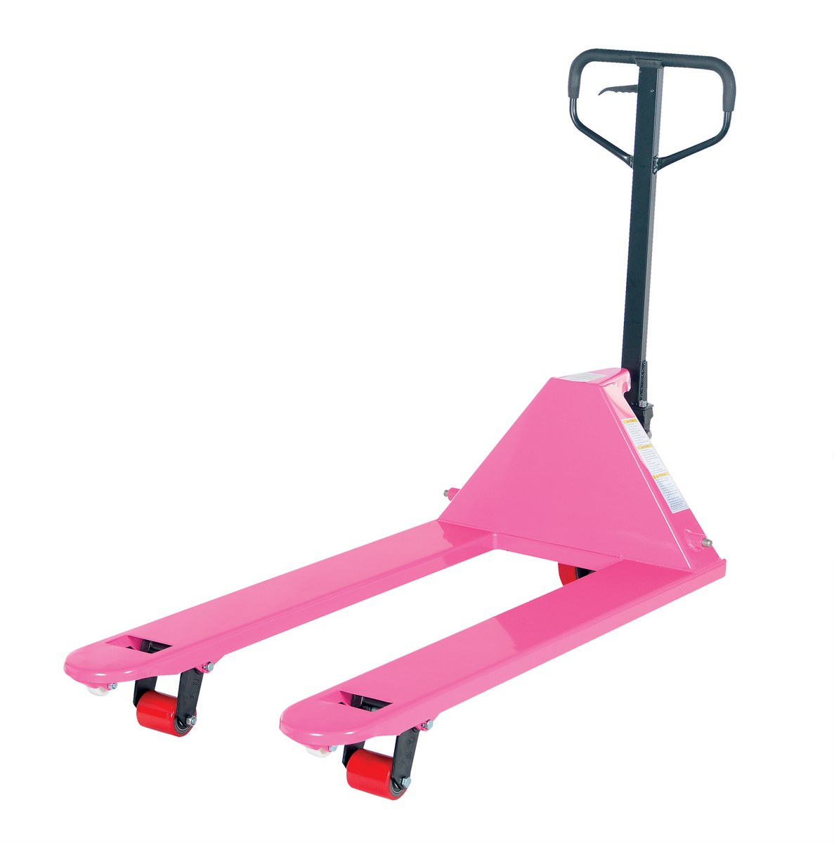 "PM5-2748-PINK Full Featured Deluxe Pink Pallet Jack 27""W x 48""L Forks"