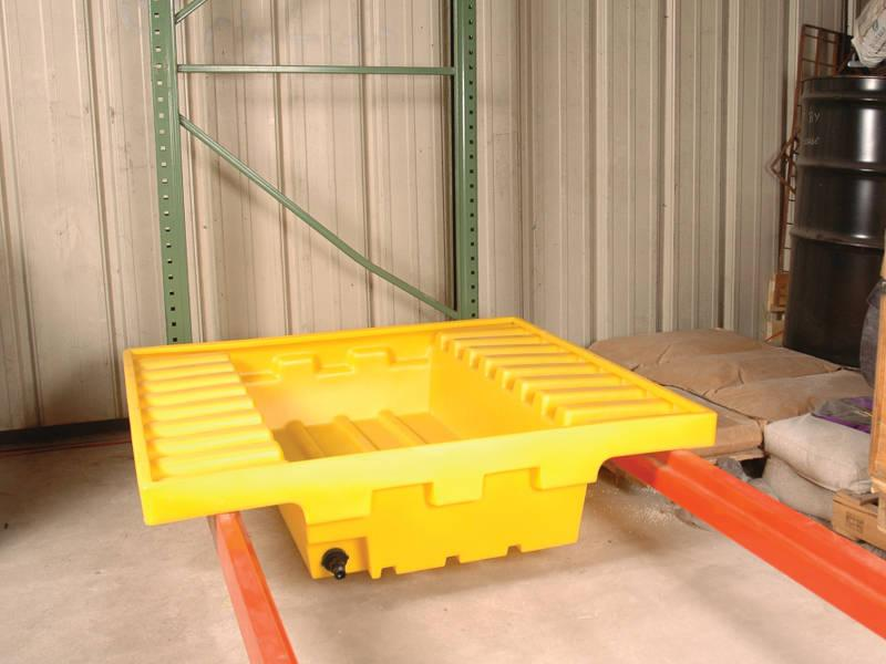 Vestil Pallet Rack Sump Model No. PRS-51-D