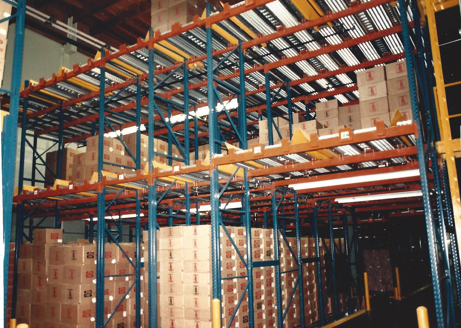 Deep Pallet Flow For a Food Producer
