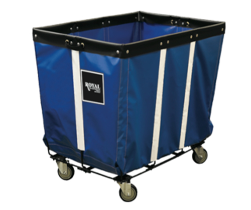 Vinyl Basket Truck with Wire Base - 20 Bushel - Permanent Liner
