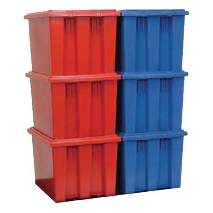 Plastic Stack & Nest Containers