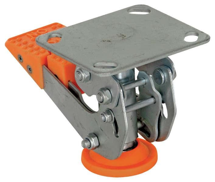 Vestil Polyurethane Floor Lock Model No. FL-LKH-4