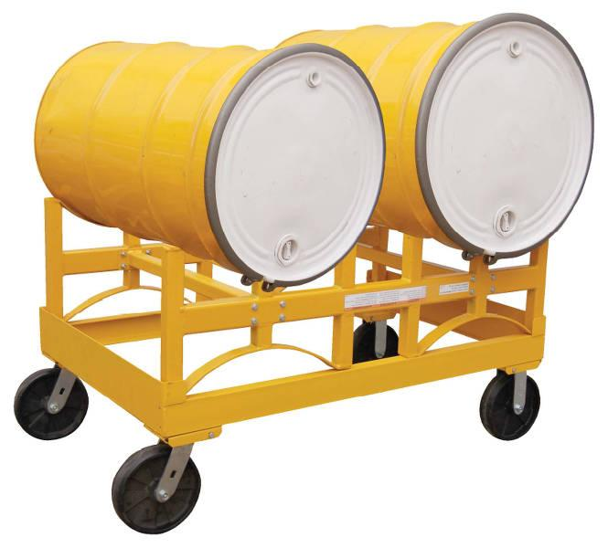 Vestil Portable Drum Carts