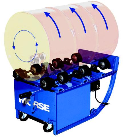Morse Portable Drum Roller Model No. 201VS-1