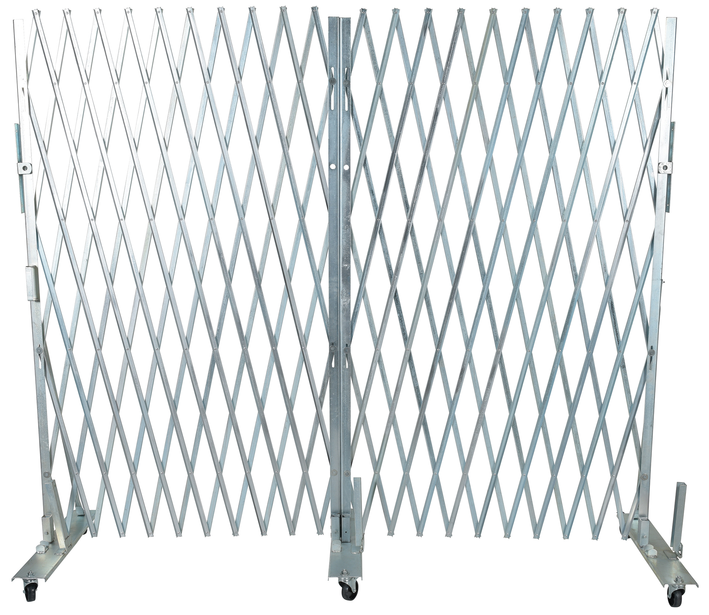 Vestil VXL-1265 Galvanized Portable Gate
