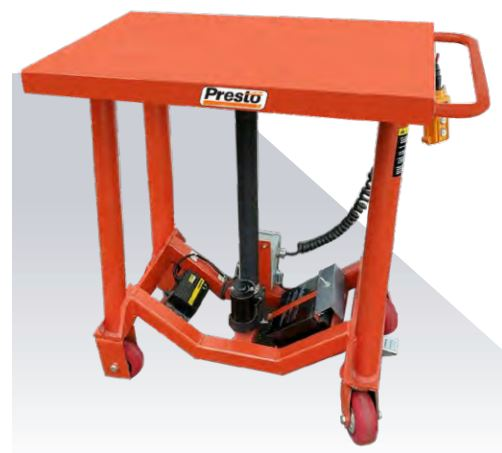 Presto Post Lift Tables Battery Operated