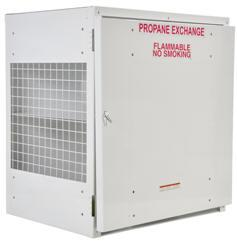 Vestil Propane Exchange Cylinder Cabinets Model No. CYL-EX-12-S
