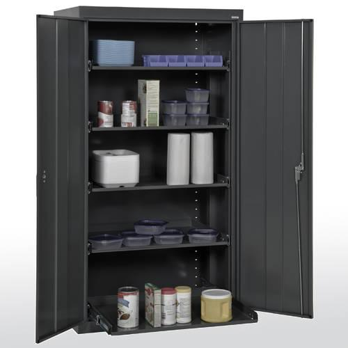 Sandusky Pull-Out Tray Shelf Storage Cabinet