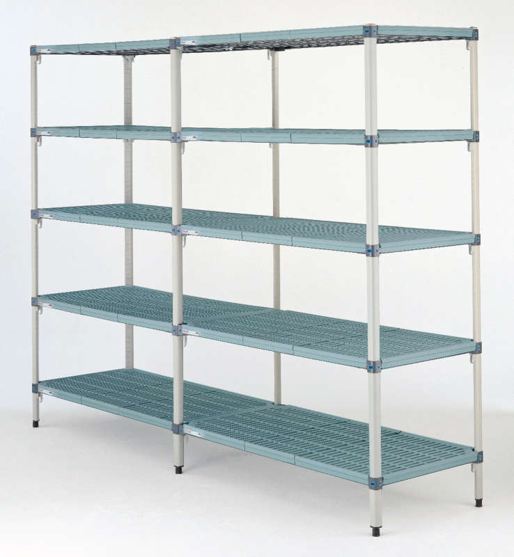 Metro MetroMax Q Shelving Starter and Add-On 4-Tier Units