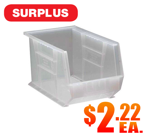 Quantum QUS242CL Clear Bins A5
