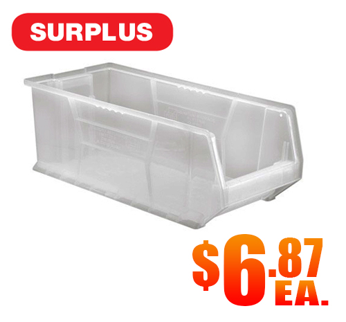 Quantum QUS951CL Clear Hulk Bin Surplus A2