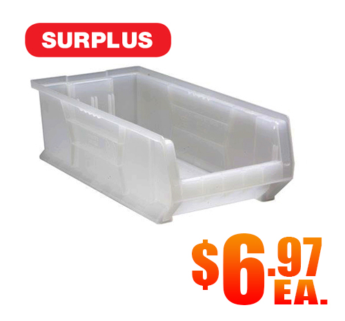 Quantum QUS952CL Clear Bins Surplus A