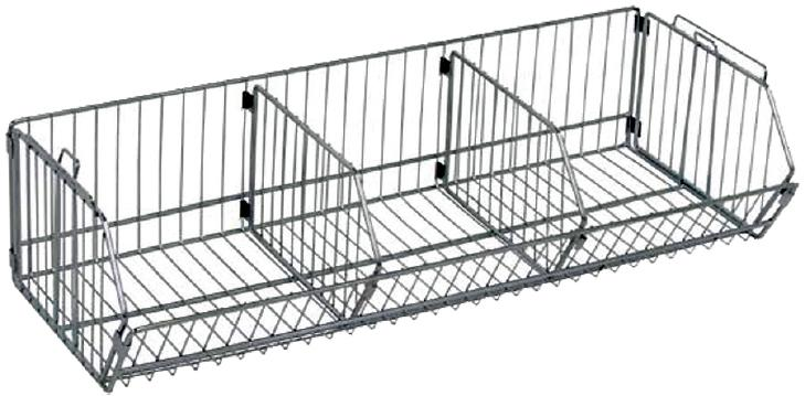 Quantum Chrome Wire Stacking Baskets