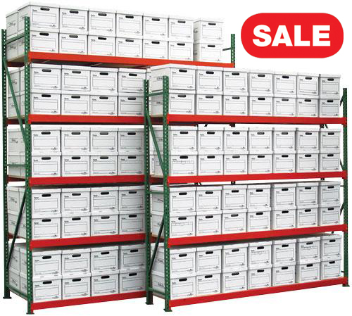 Quick Rack Record Archive Shelving Sale