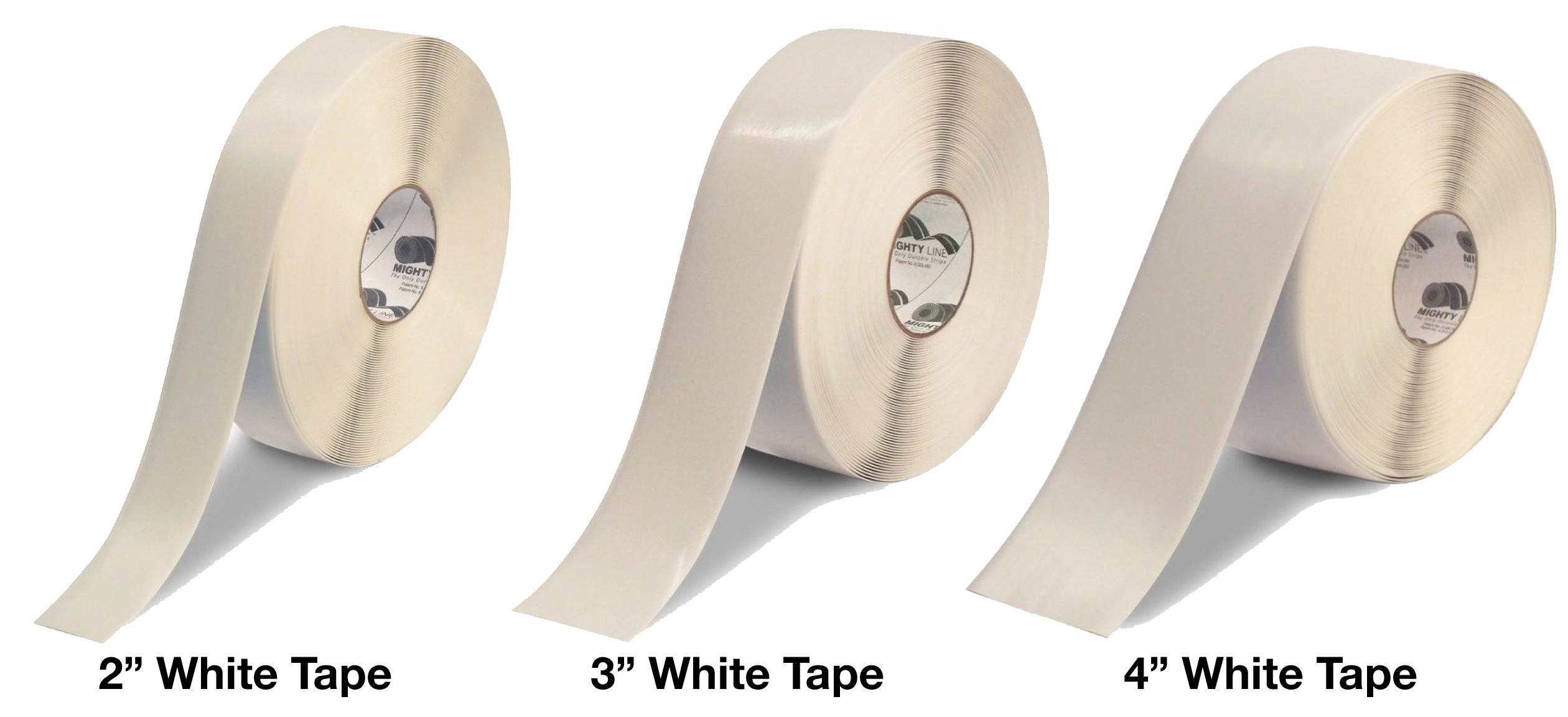 Mighty Line White Floor Tape