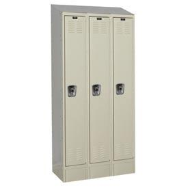 Hallowell Ready-Built II Stock Lockers Single Tier 3-Wide